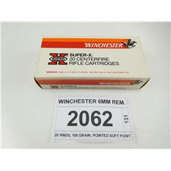 WINCHESTER 6MM REM.