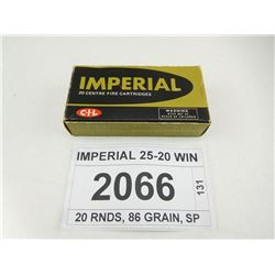 IMPERIAL 25-20 WIN