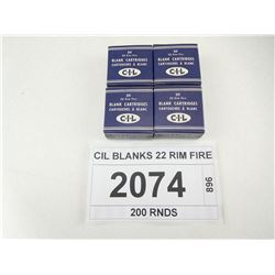 CIL BLANKS 22 RIM FIRE