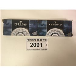 FEDERAL 30-30 WIN