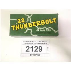 REMINGTON .22 LONG RIFLE THUNDERBOLT AMMUNITION