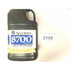 ACCURATE 8700 SMOKELESS POWDER