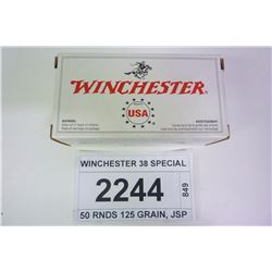 WINCHESTER 38 SPECIAL
