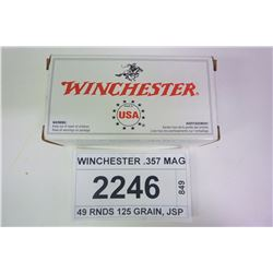 WINCHESTER .357 MAG