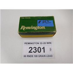 REMINGTON 32-20 WIN