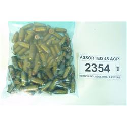 ASSORTED 45 ACP