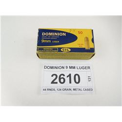DOMINION 9 MM LUGER