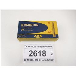DOMINION 30 REMINGTON