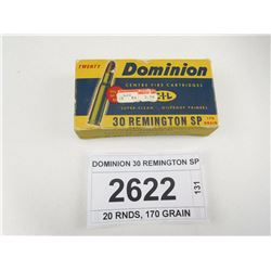 DOMINION 30 REMINGTON SP