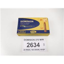 DOMINION 270 WIN