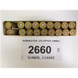 REMINGTON .219 ZIPPER AMMO