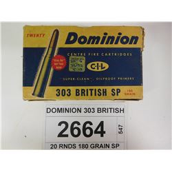 DOMINION 303 BRITISH