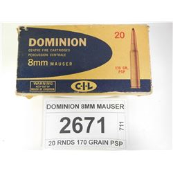 DOMINION 8MM MAUSER