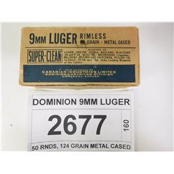 DOMINION 9MM LUGER