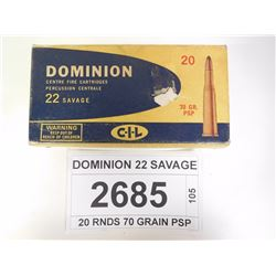DOMINION 22 SAVAGE