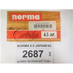 NORMA 6.5 JAPANESE
