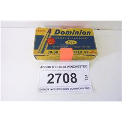 ASSORTED 30-30 WINCHESTER