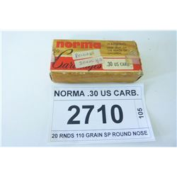 NORMA .30 US CARB.