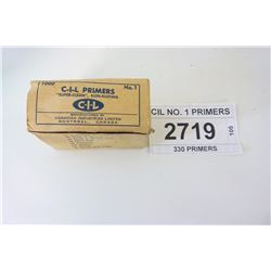 CIL NO. 1 PRIMERS