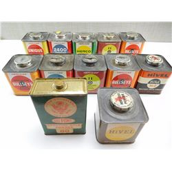 ANTIQUE POWDER CANS