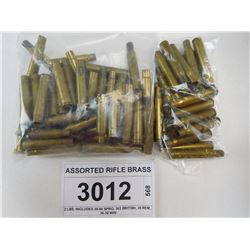 ASSORTED RIFLE BRASS