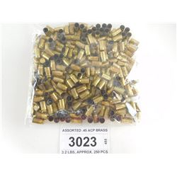 ASSORTED .45 ACP BRASS
