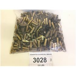 ASSORTED 38 SPECIAL BRASS