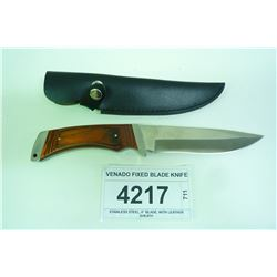 VENADO FIXED BLADE KNIFE