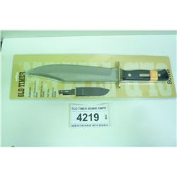 OLD TIMER BOWIE KNIFE