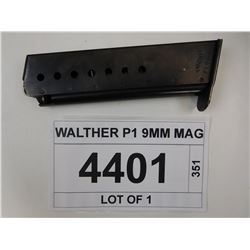 WALTHER P1 9MM MAG