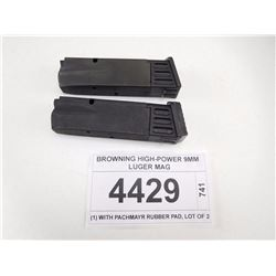 BROWNING HIGH-POWER 9MM LUGER MAG
