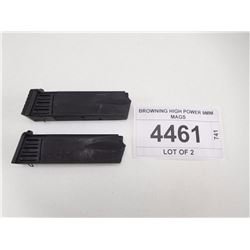 BROWNING HIGH POWER 9MM MAGS