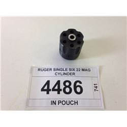 RUGER SINGLE SIX 22 MAG CYLINDER