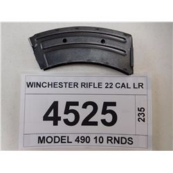 WINCHESTER RIFLE 22 CAL LR
