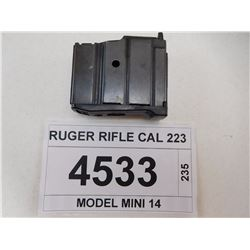 RUGER RIFLE CAL 223
