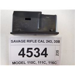 SAVAGE RIFLE CAL 243, 308