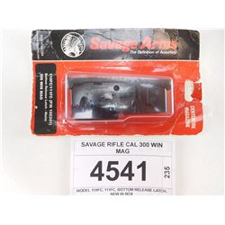 SAVAGE RIFLE CAL 300 WIN MAG