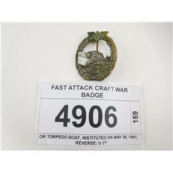 FAST ATTACK CRAFT WAR BADGE