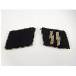 WAFFEN SS COLLER TABS