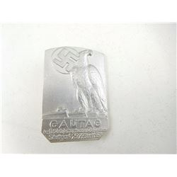 GERMAN WWII N.S.D.A.P. GAUTAG PIN