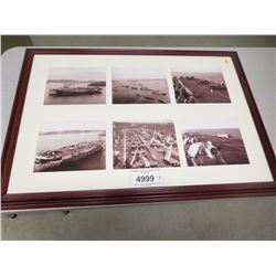 FRAMED NAVAL AND AIRFORCE PHOTOS