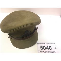 BRITISH ROYAL ARTILLERY HAT