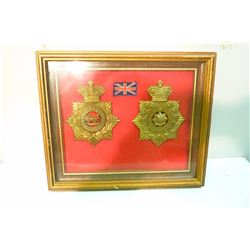 BRITISH REGIMENTAL BADGES