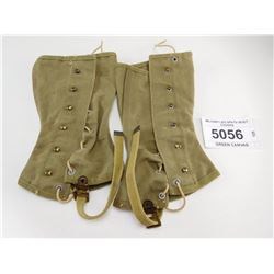 MILITARY LEG SPATS/ BOOT COVERS