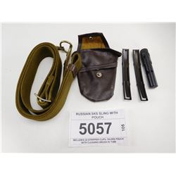 RUSSIAN SKS SLING WITH POUCH
