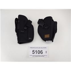 ASSORTED NYLON HOLSTERS