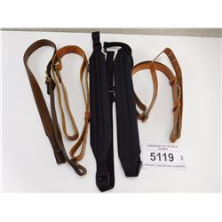 ASSORTED LOT OF RIFLE SLINGS
