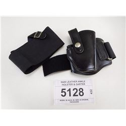 S&W LEATHER ANKLE HOLSTER