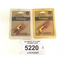PACHMAYR .243 DUMMY ROUNDS - NEW