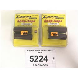 A-ZOOM 12 GA. SNAP CAPS - NEW